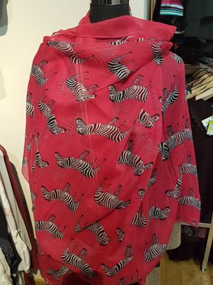 Picture of Zebra scarf