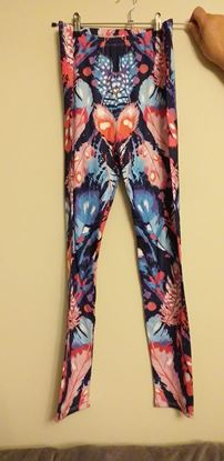 Picture of feather leggings