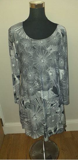 Picture of circles dress size L