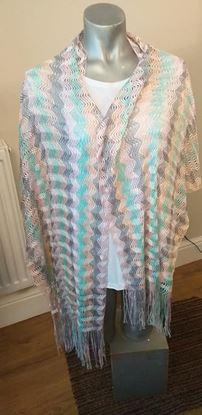 Picture of pastel scarf
