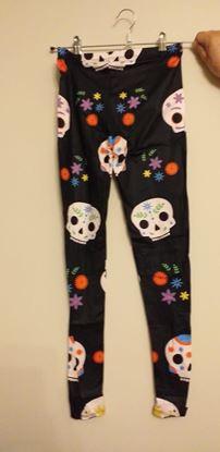 Picture of skull leggings