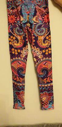 Picture of purple/orange leggings