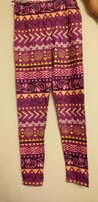 Picture of purple leggings