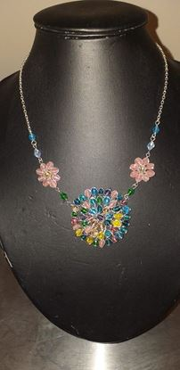 Picture of Bead flower necklace