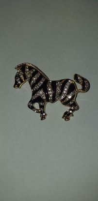 Picture of Zebra brooch