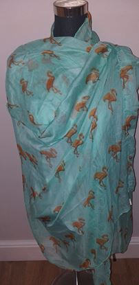 Picture of Flamingo scarf