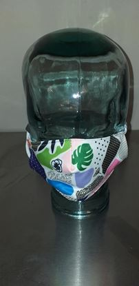 Picture of Small adult/ childs patchwork mask
