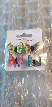 Picture of Butterfly hairclips