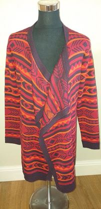 Picture of Waterfall cardigan size L