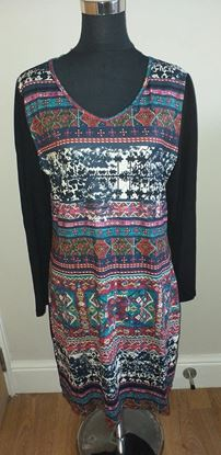 Picture of Coline: multi-colour dress