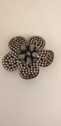 Picture of clear flower brooch/hairclip - copy