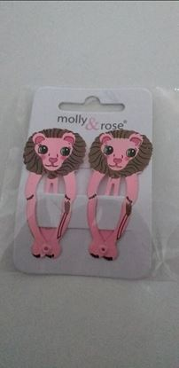 Picture of lion hairclips