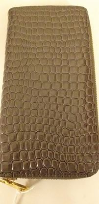 Picture of Grey zip purse