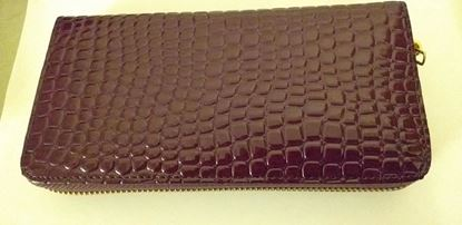 Picture of Purple zip purse