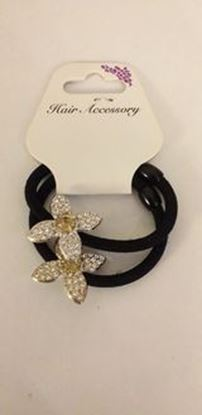 Picture of Flower gem hairbands-amber