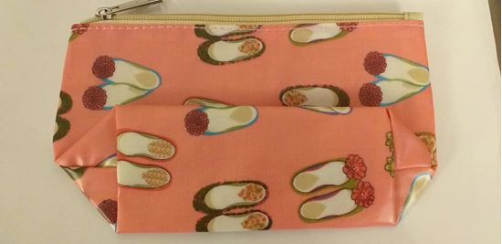 Picture of shoe makeup bag