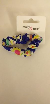 Picture of Hair scrunchie-blue